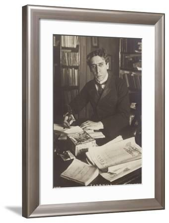 Israel Zangwill--Framed Photographic Print