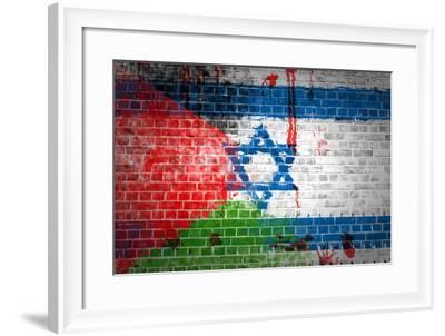 Israeli Occupation-Tonygers-Framed Photographic Print