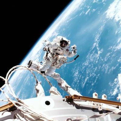ISS Space Walk--Photographic Print