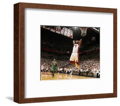 Boston Celtics v Miami Heat - Game Five, Miami, FL - MAY 11: LeBron James and Paul Pierce