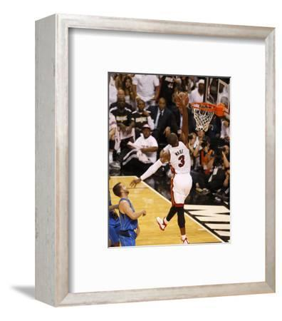 Dallas Mavericks v Miami Heat - Game Two, Miami, FL - JUNE 02: Dwyane Wade and Jose Juan Barea