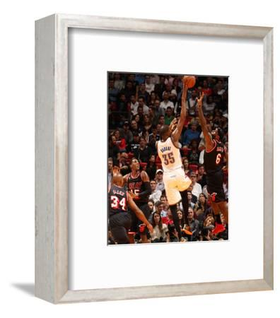 Jan 29, 2014, Oklahoma City Thunder vs Miami Heat - Kevin Durant, LeBron James