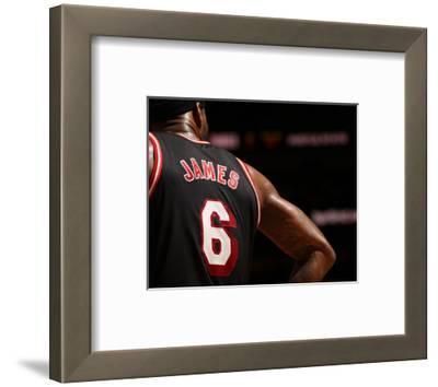 Jan 29, 2014, Oklahoma City Thunder vs Miami Heat - LeBron James