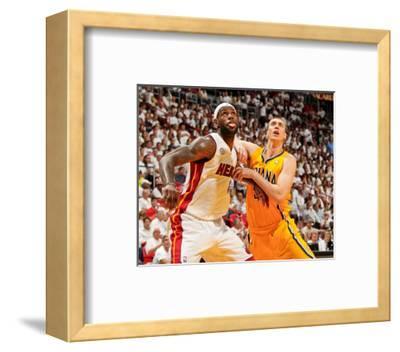 Miami, FL - May 24: LeBron James and Tyler Hansbrough