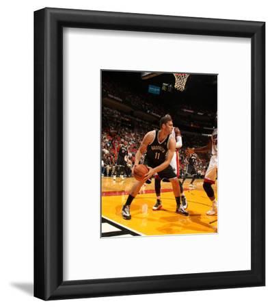 Oct 25, 2013, Brooklyn Nets vs Miami Heat - Brook Lopez