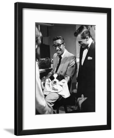 Sammy Davis Jr., Hugh Hefner - 1960