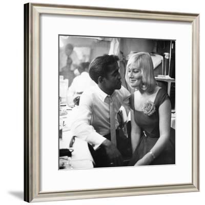 Sammy Davis Jr., May Britt - 1960