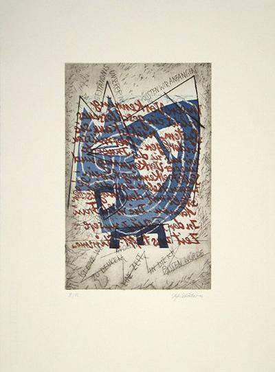 Ist eine Welt zu denken-Helga Schröder-Collectable Print