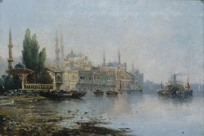 Istanbul as Seen from the Bosphorus, Second Half of the 19th C--Giclee Print