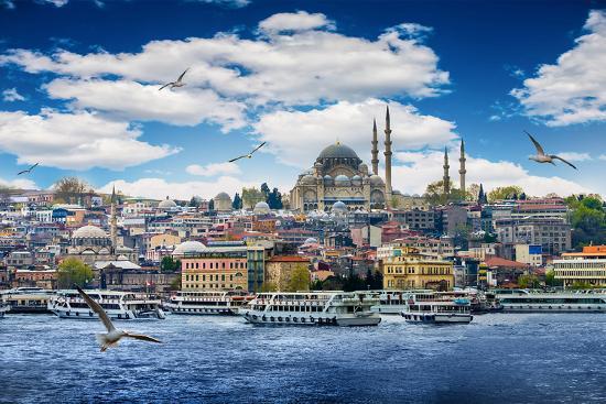 Istanbul the Capital of Turkey, Eastern Tourist City.- seqoya-Photographic Print
