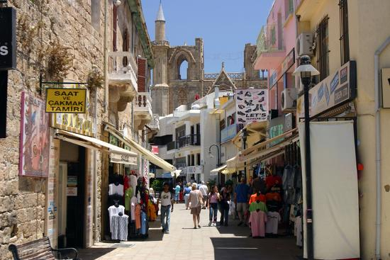 Istiklal Caddesi, Famagusta, North Cyprus-Peter Thompson-Photographic Print