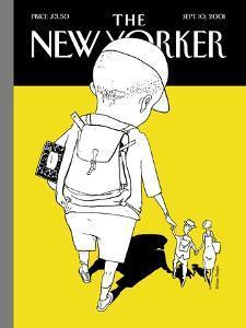 The New Yorker Cover - September 10, 2001 by Istvan Banyai
