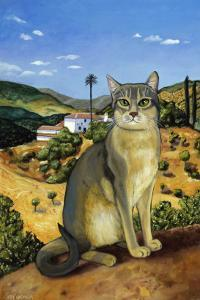 Abyssinian in the Vicinity of Seville by Isy Ochoa