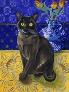 Burmese Cat, Series I by Isy Ochoa