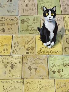 Cat in Hollywood (Chat a Hollywood) by Isy Ochoa