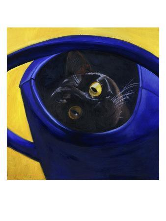 Cat in the Watering Can (Chat a L'Arrosoir)