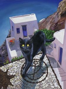 Cat of Greece (Chat de Grece) by Isy Ochoa