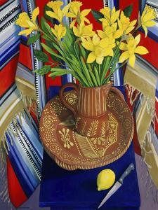 Daffodils and Lemons (Jonquilles et Citrons) by Isy Ochoa