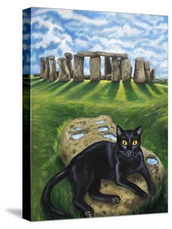 European Cat at Stonehenge/Great Britain