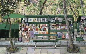 Les Bouquinistes, Paris by Isy Ochoa
