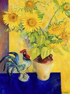 Rooster and Sunflowers (Coq et Tournesols) by Isy Ochoa