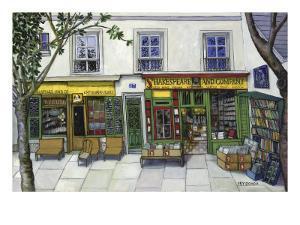 Shakespeare and Company, Paris by Isy Ochoa