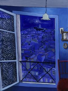 View on Montmartre (Vue Sur Montmartre) by Isy Ochoa