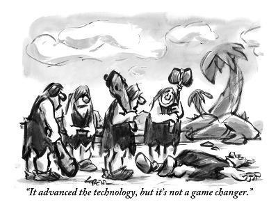 """It advanced the technology, but it's not a game changer."" - New Yorker Cartoon-Lee Lorenz-Premium Giclee Print"
