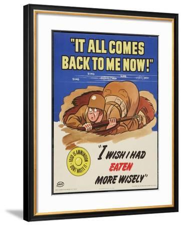 It All Comes Back To Be Now!--Framed Art Print