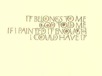 It Belongs to Me--Art Print