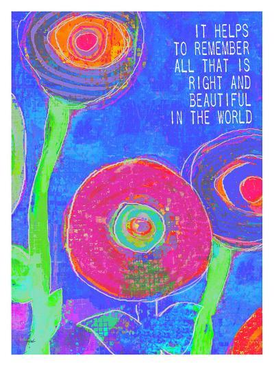 It Helps To Remember-Lisa Weedn-Giclee Print