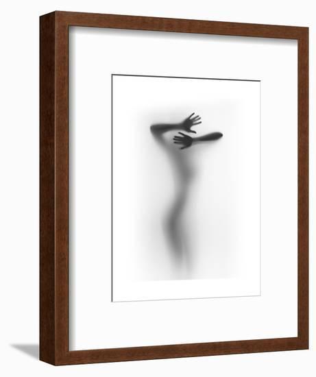 It Hurts-Shadow-Framed Art Print