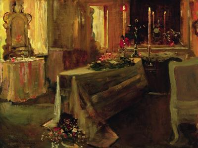'It Is Finished', 5th Jan 1935-Sir John Lavery-Giclee Print