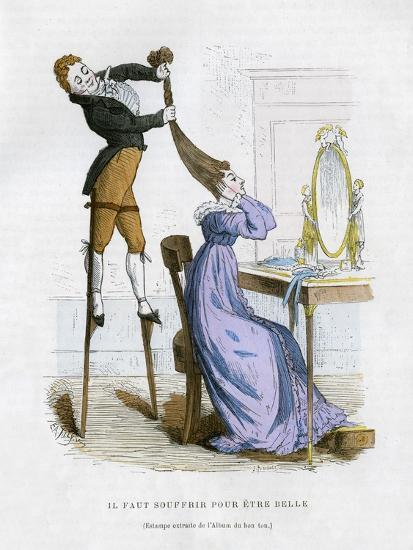 It Is Necessary to Suffer to Be Beautiful, 1882-1884-EA Tilly-Giclee Print