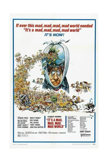 It's a Mad Mad Mad Mad World, 1963--Giclee Print