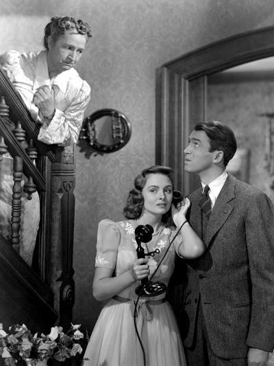 It's A Wonderful Life, Sarah Edwards, Donna Reed, James Stewart, 1946--Photo