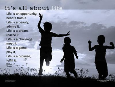 It's All About Life--Art Print