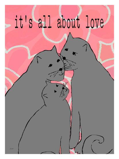It'S All About Love-Lisa Weedn-Giclee Print