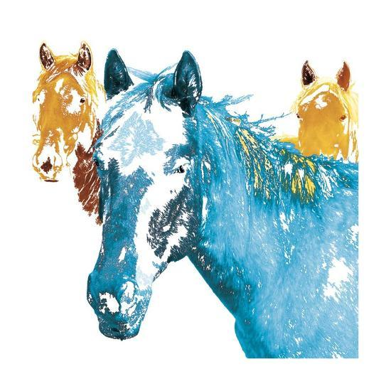 It's Cool To Be Blue-Marvin Pelkey-Giclee Print
