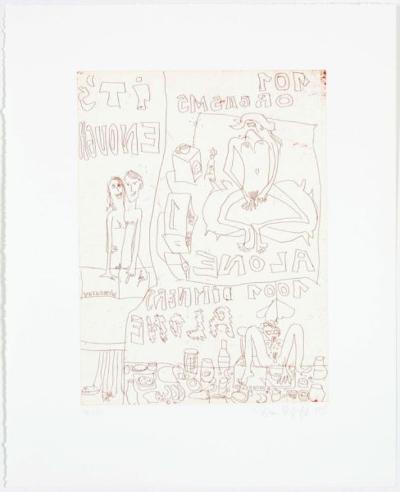 It's Enough-Elke Krystufek-Collectable Print