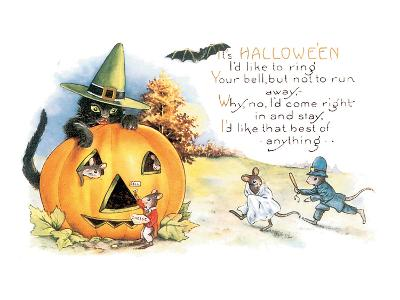 It's Halloween--Art Print