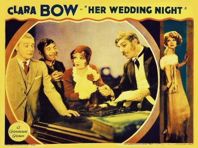 It's Her Wedding Night, 1930--Art Print