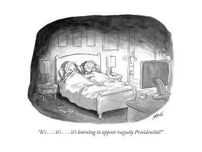 """It's . . . it's . . . it's learning to appear vaguely Presidential!"" - Cartoon-Tom Toro-Premium Giclee Print"
