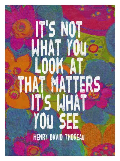 It's Not What You Look At-Lisa Weedn-Giclee Print