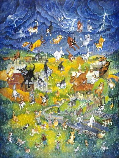 It's Raining it's Pouring-Bill Bell-Giclee Print