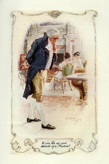 It Was the Air and Attitude of a Montoni, 1907-Charles Edmund Brock-Giclee Print