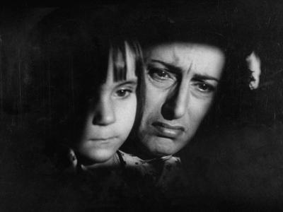 """Italian Actress Anna Magnani Appearing in the Movie """"Bellissima""""-Alfred Eisenstaedt-Photographic Print"""