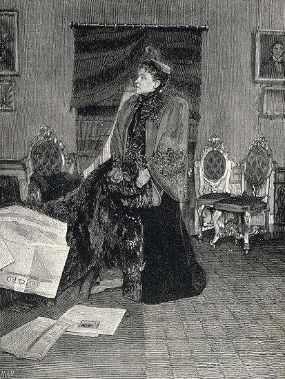Italian Actress Eleonora Duse--Giclee Print