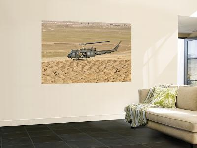 Italian Army Ab-205Mep Utility Helicopter in Flight over Shindand, Afghanistan-Stocktrek Images-Wall Mural
