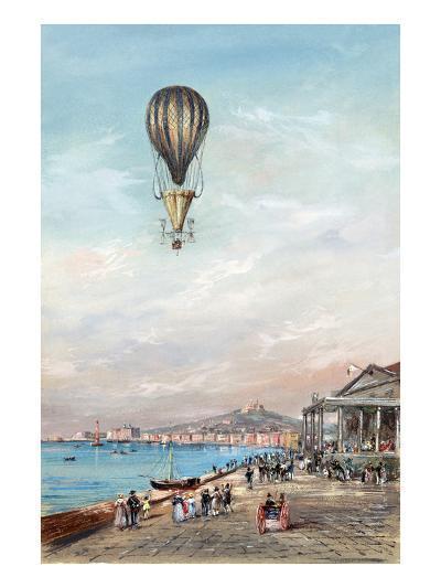 Italian Ballon Ascension--Art Print